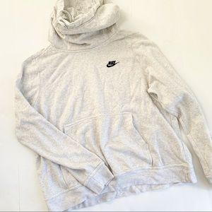 3 for $25 Nike Heather Gray Cowl Neck Sweatshirt